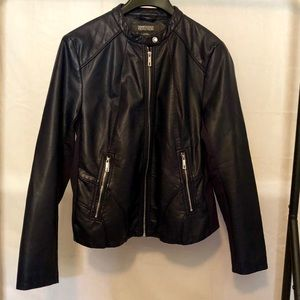 Kenneth Cole Reaction Faux Leather Jacket